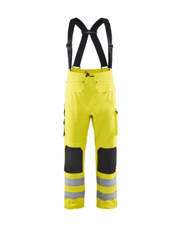 Blaklader 1302 Waterproof Rain Trousers (Yellow)